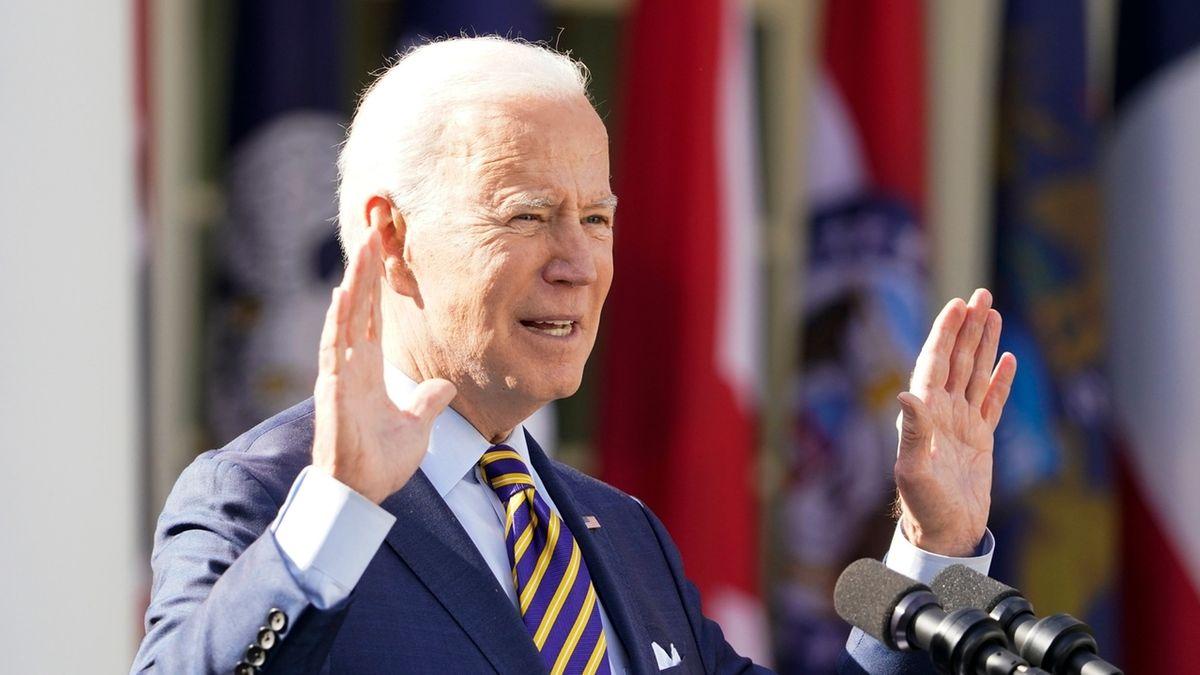 Joe Biden bei einer Ansprache (Archivbild).