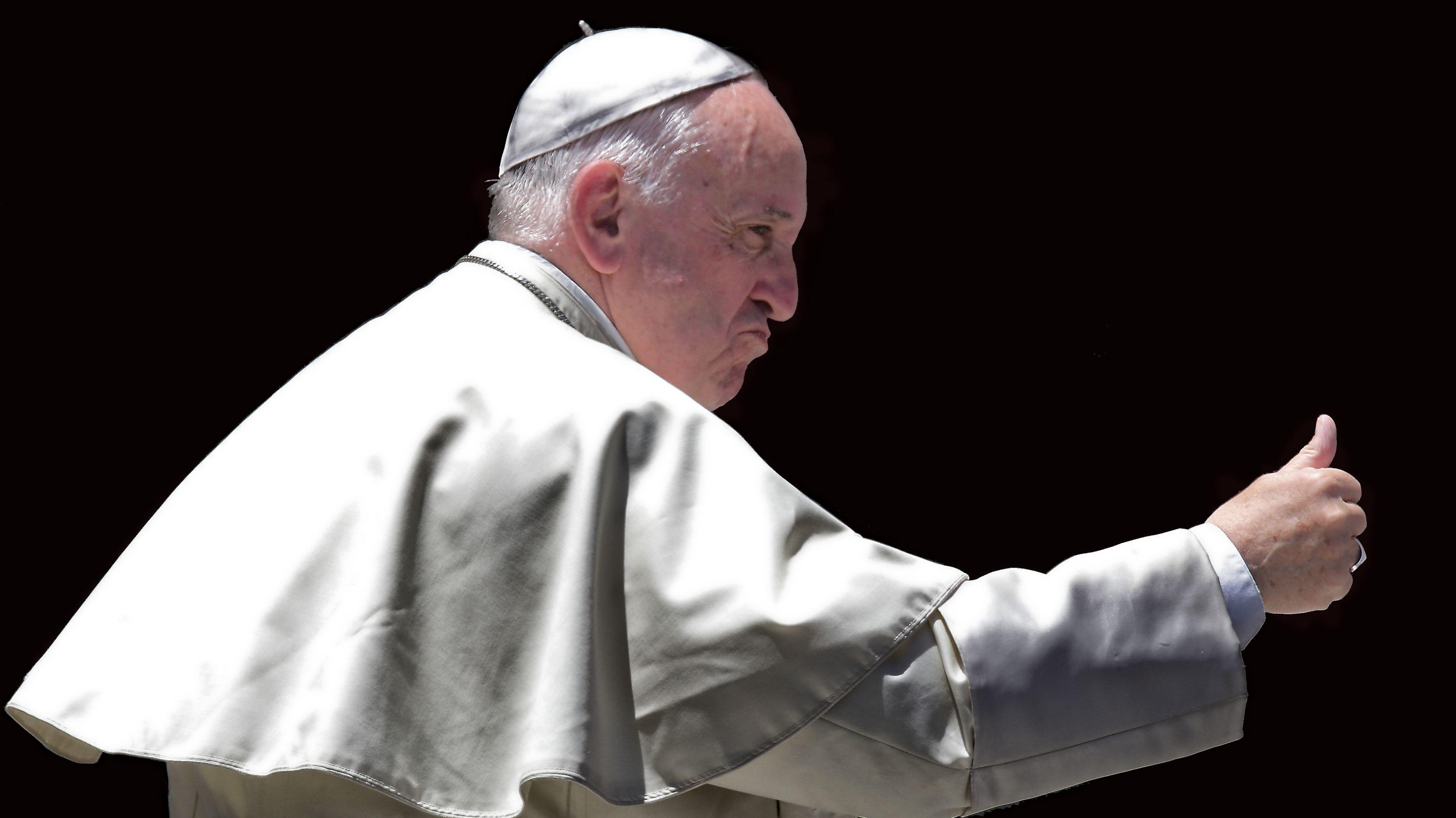 Papst Franziskus bei Generalaudienz 2016