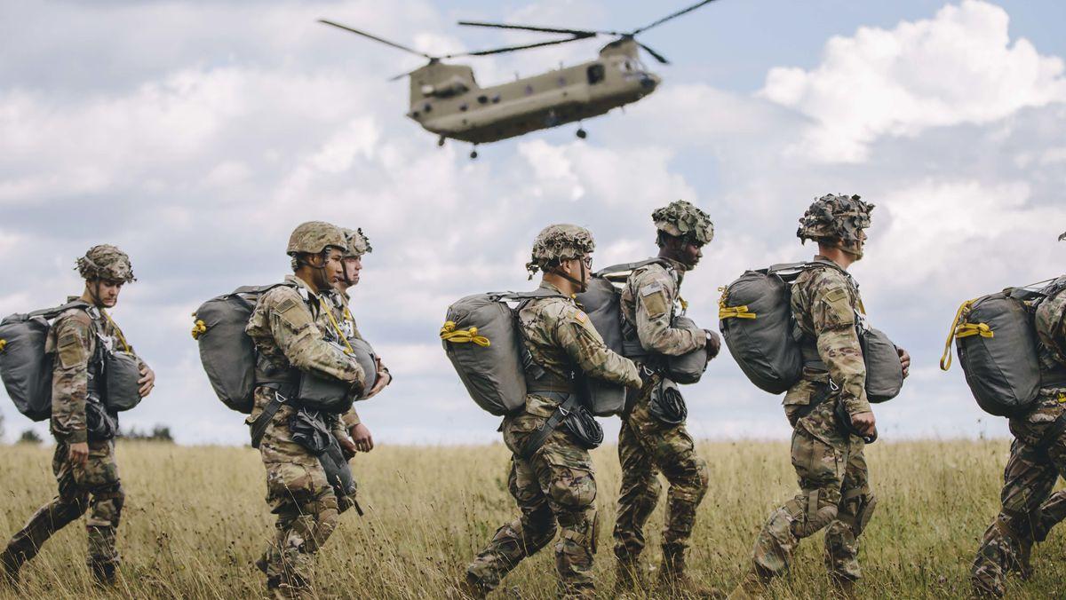 US-Soldaten auf dem Truppenübungsplatz Grafenwöhr