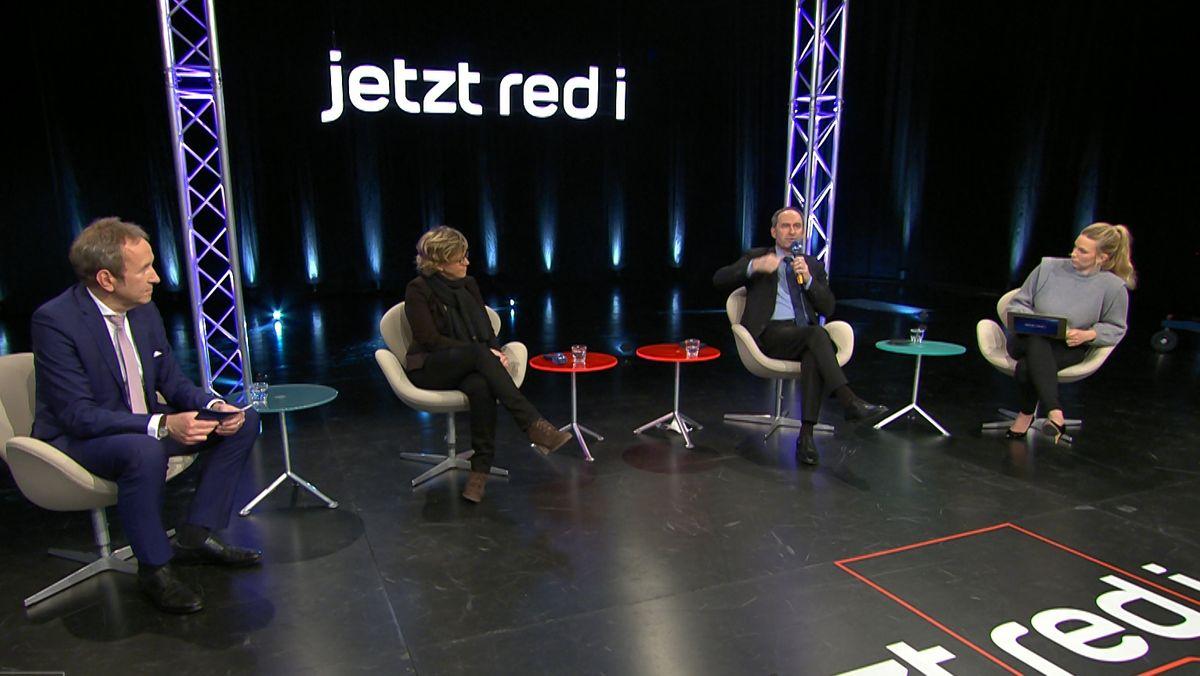jetzt red i vom 27.01.2021 mit Hubert Aiwanger und Natascha Kohnen