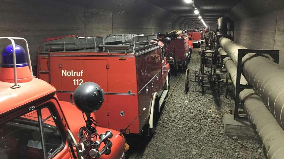 Blick in den alten Straßenbahn-Tunnel.   Bild:Michael Reiner/BR
