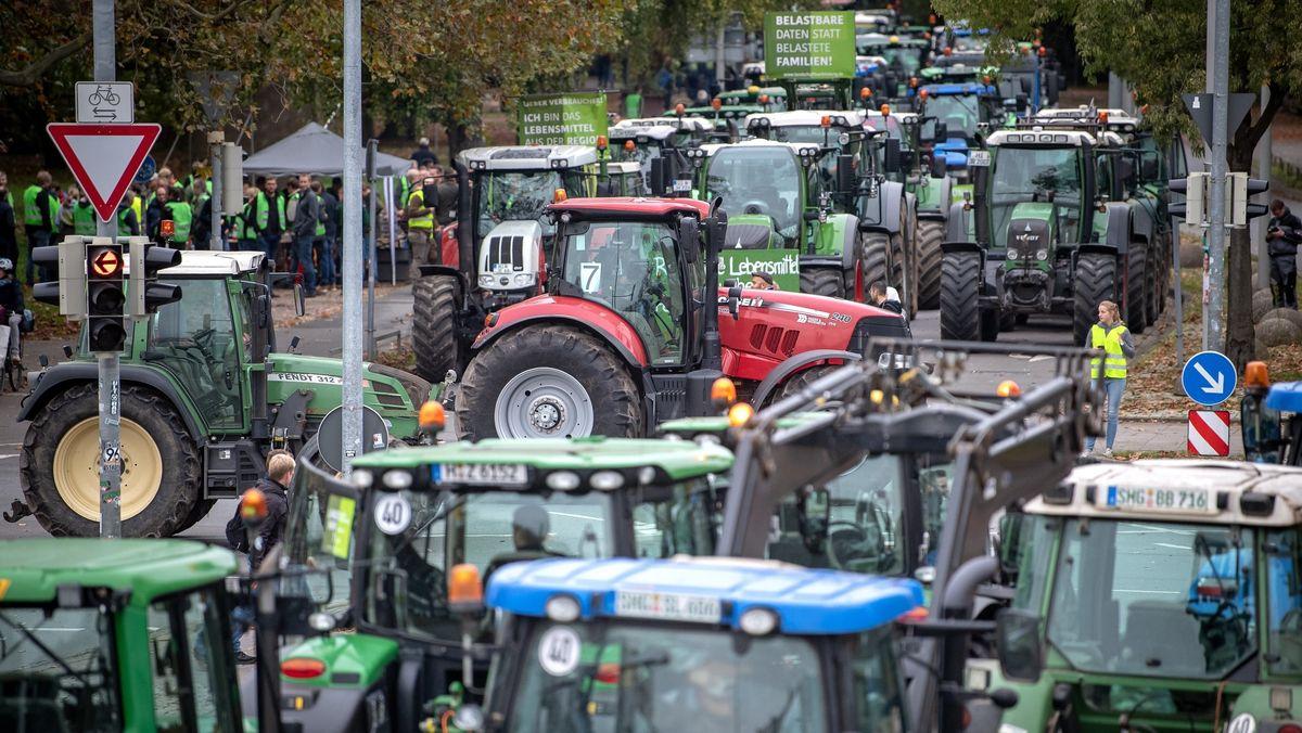 """Die Bauerninitiative """"Land schafft Verbindung"""" ist bundesweit organisiert."""