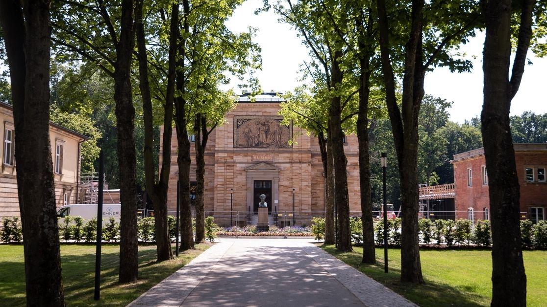 Das Richard-Wagner-Museum und die Villa Wahnfried in Bayreuth.