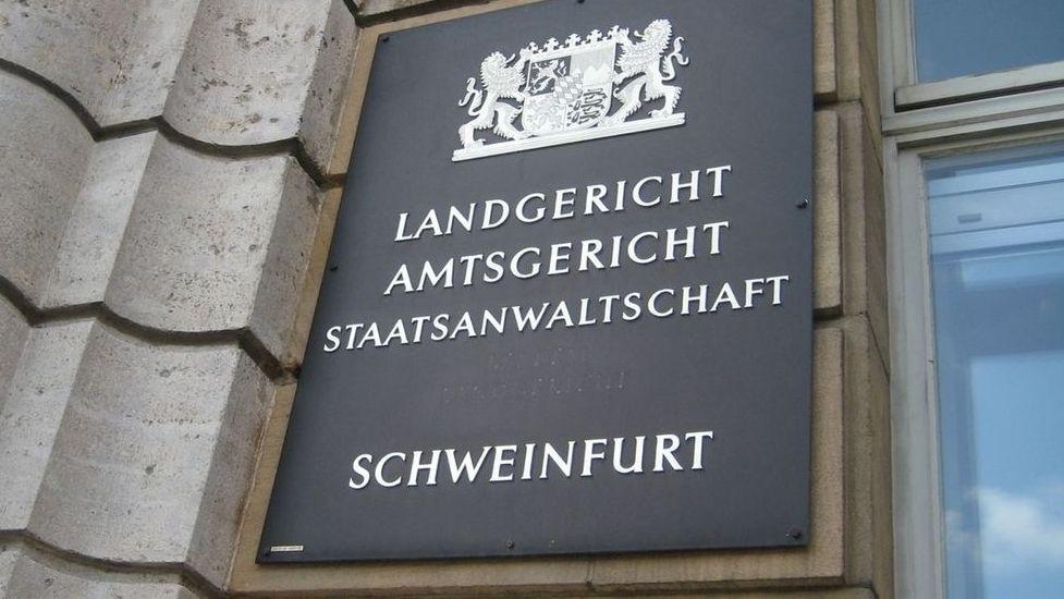Tabelle Landgericht Schweinfurt