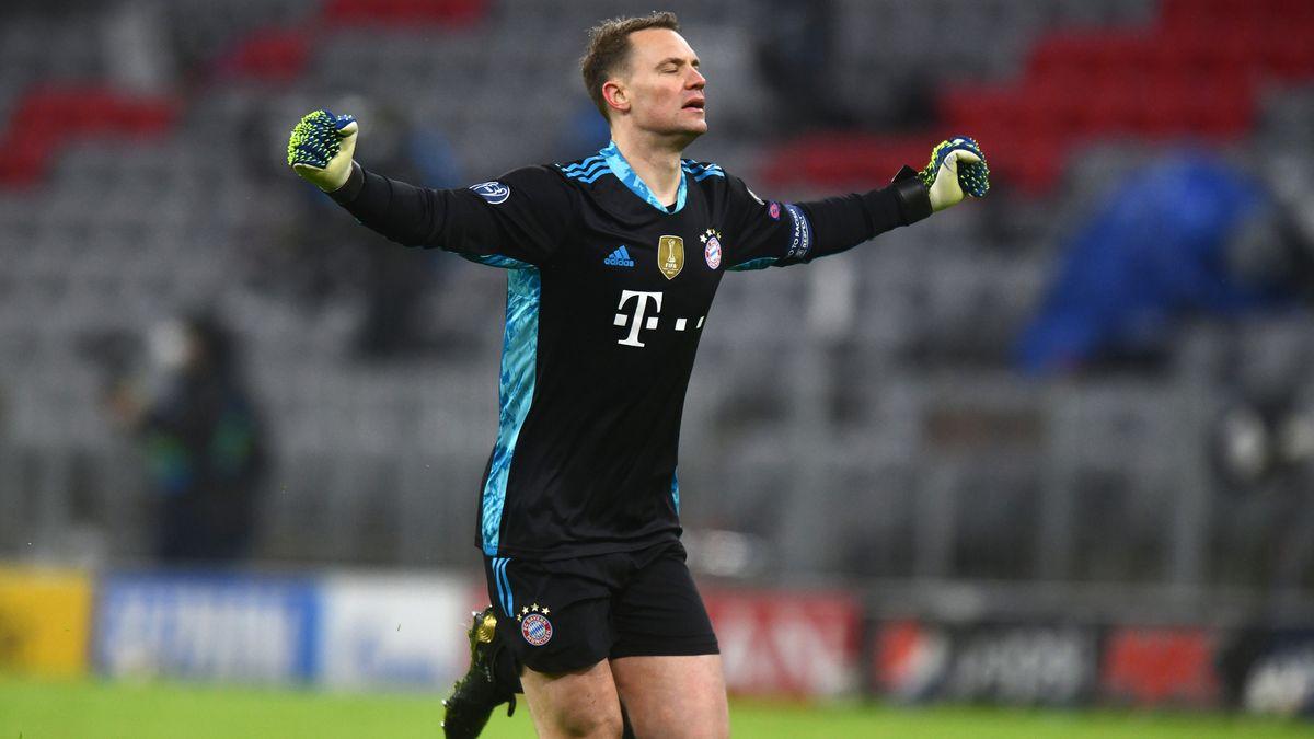 FC Bayern-Kapitän Manuel Neuer jubelt.