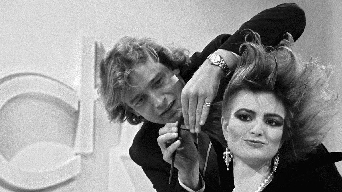 Gerhard Meir 1986 mit Gloria von Thurn und Taxis