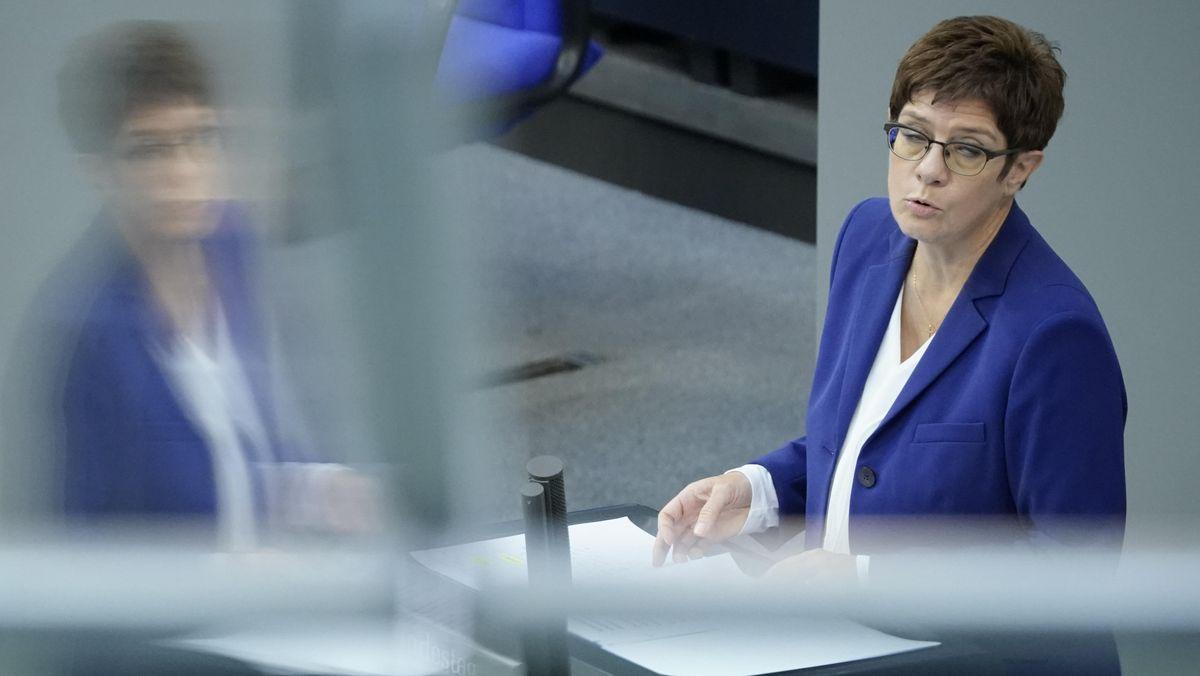 Annegret Kramp-Karrenbauer, CDU-Chefin und Bundesverteidigungsministerin