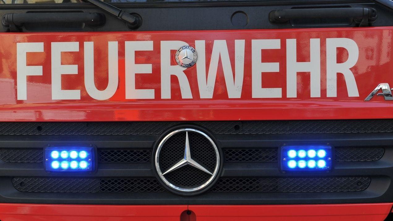 Ein Einsatzfahrzeug der Feuerwehr - Symbolbild
