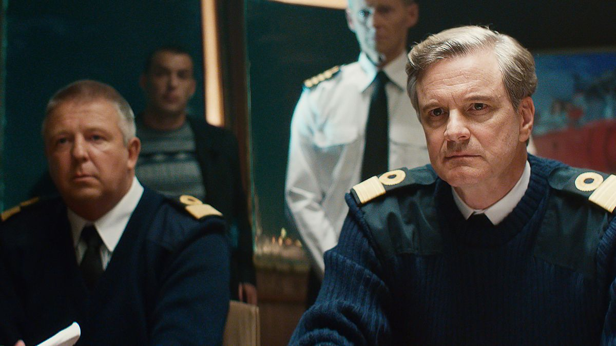 "Colin Firth als Marine-Offizier in ""Kursk"""
