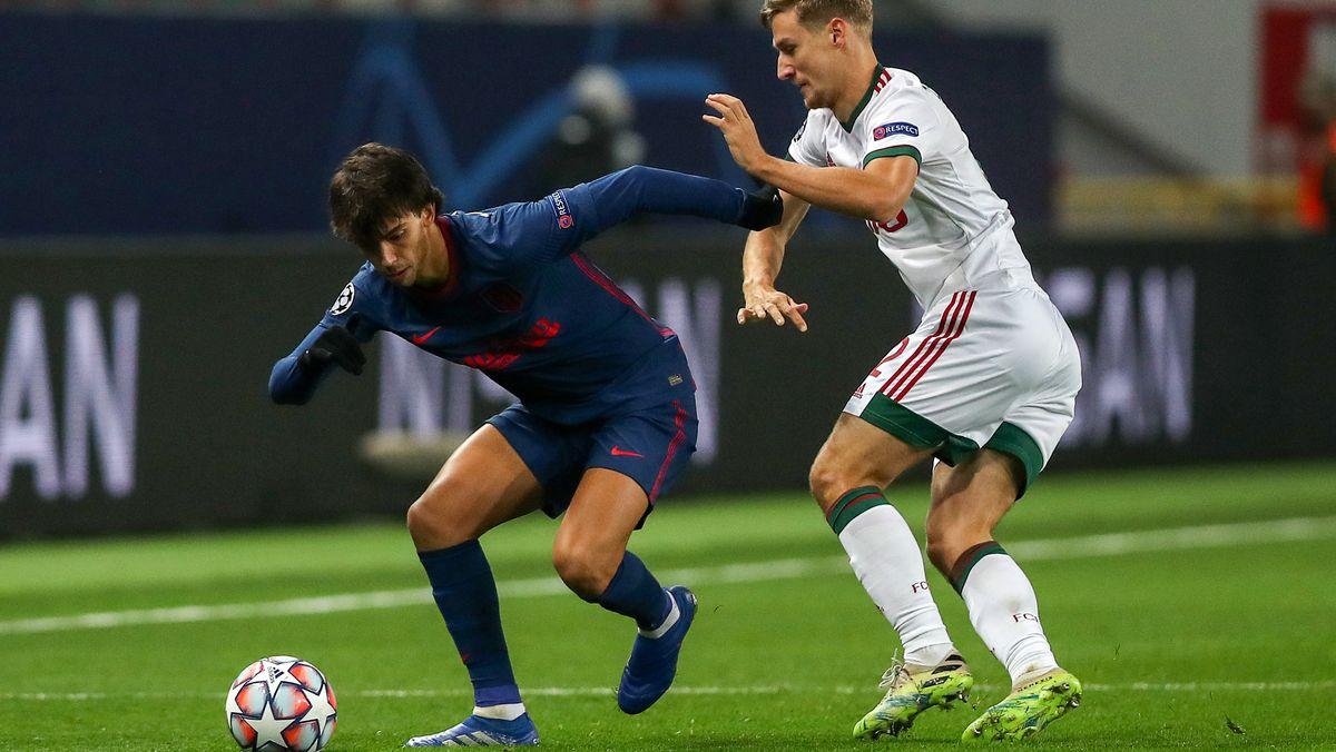 Spielszene Moskau gegen Madrid