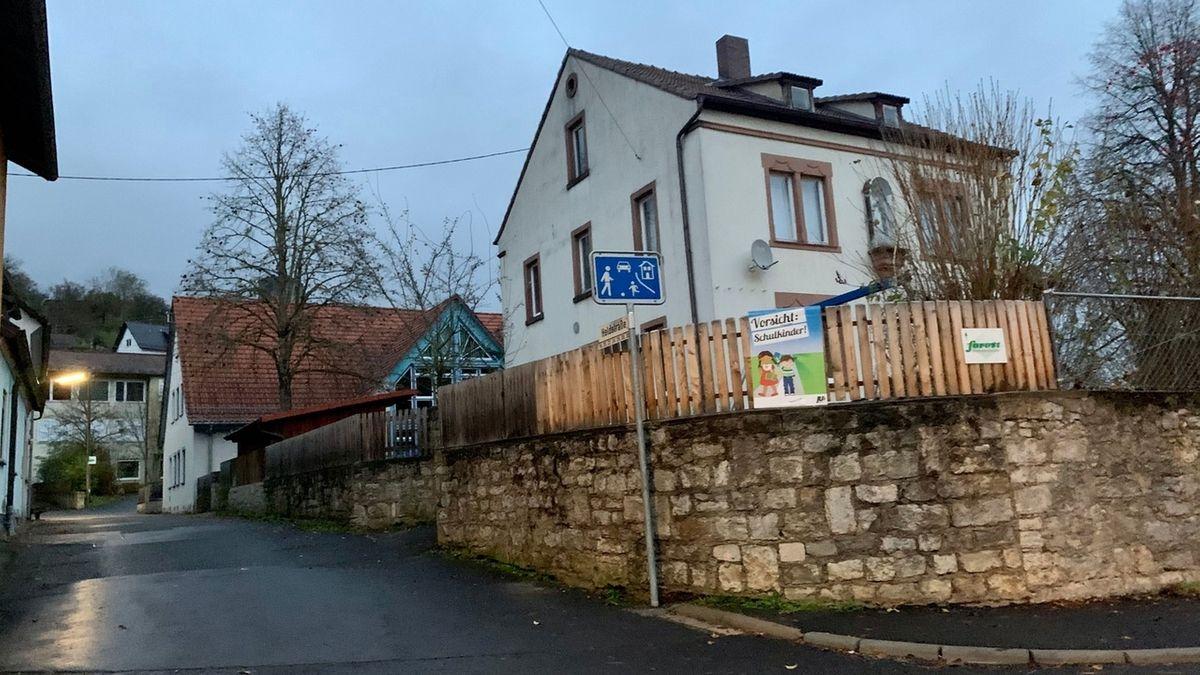 An der ehemaligen Laudenbacher Grundschule