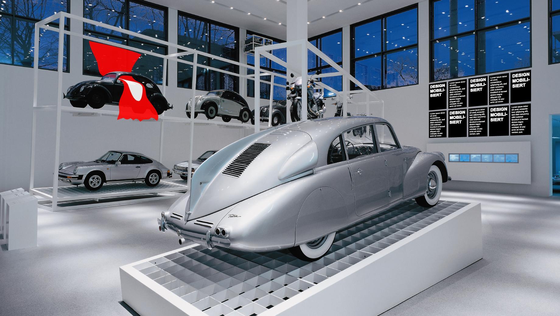 Design macht mobil: Subtile Inverventionen von Friedrich von Borries in der Neuen Sammlung