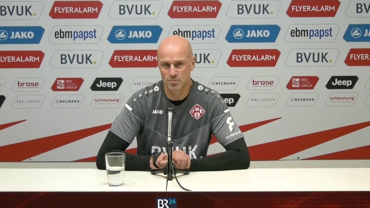 Würzburger Kickers vor Entlassung von Trainer Antwerpen