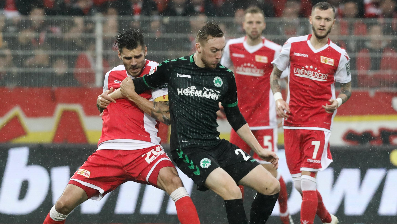 Spielszene 1. FC Union Berlin - SpVgg Greuther Fürth