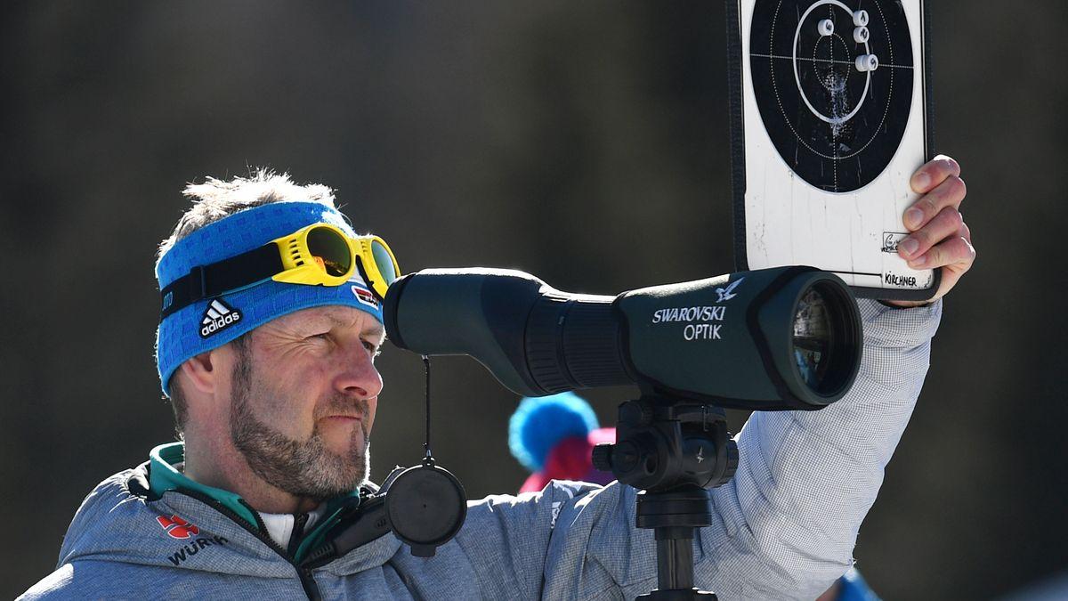 Biathlon-Bundestrainer Mark Kirchner