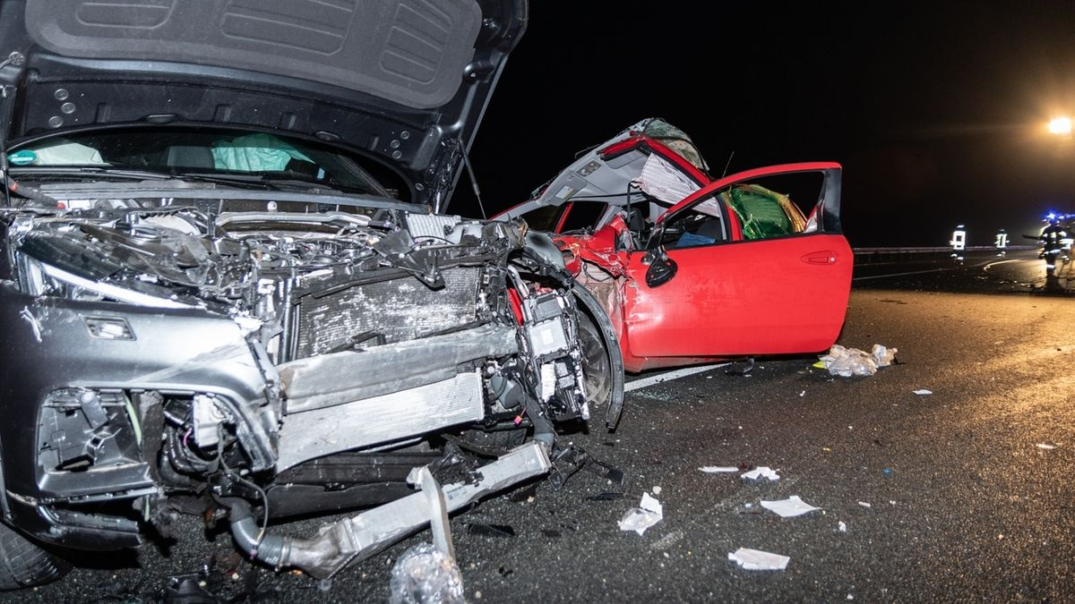 Unfall auf A6