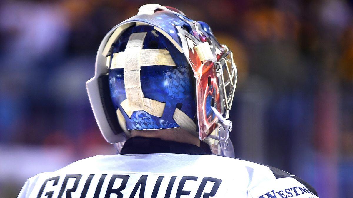 Eishockey-Helm - noch ohne Vollvisier