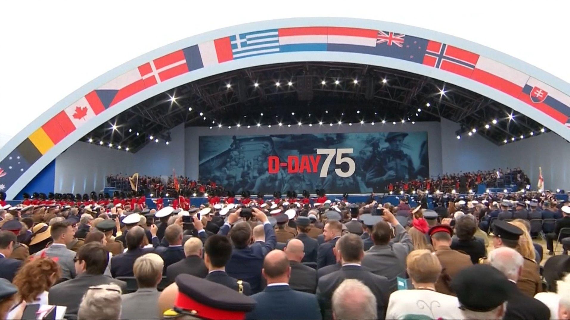 D-Day Gedenkveranstaltung