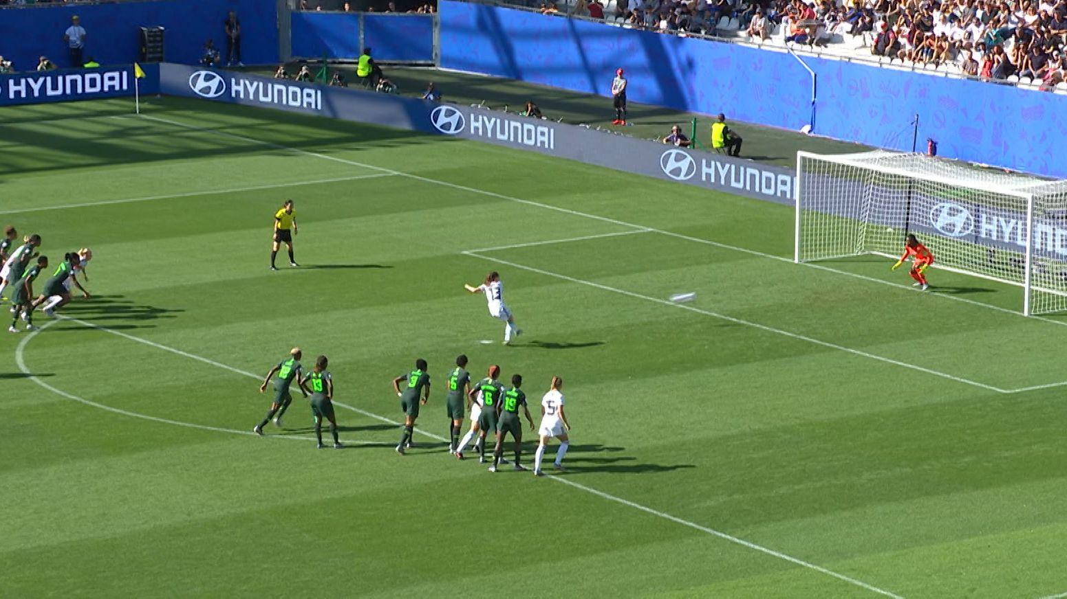 3:0 gegen Nigeria - DFB-Frauen erreichen WM-Viertelfinale
