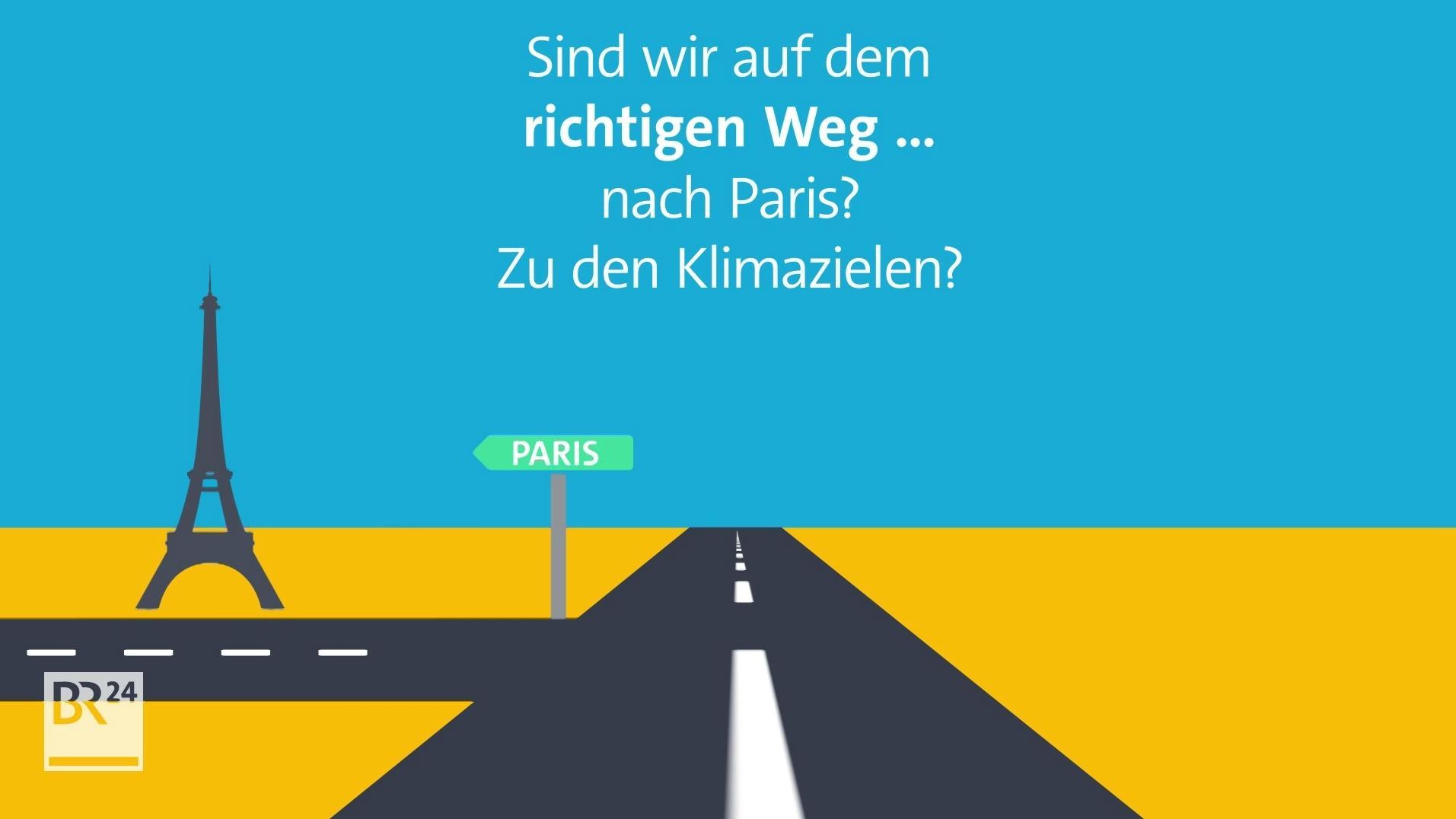 Sind wir auf dem richtigen Weg nach Paris?