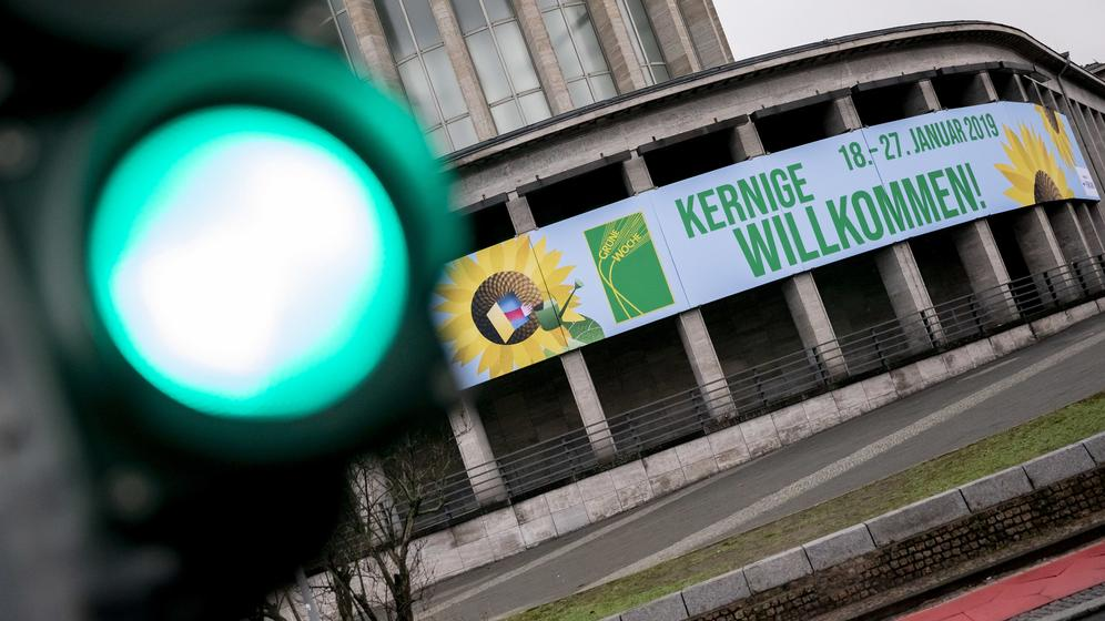 Grüne Woche startet in Berlin | Bild:dpa-Bildfunk