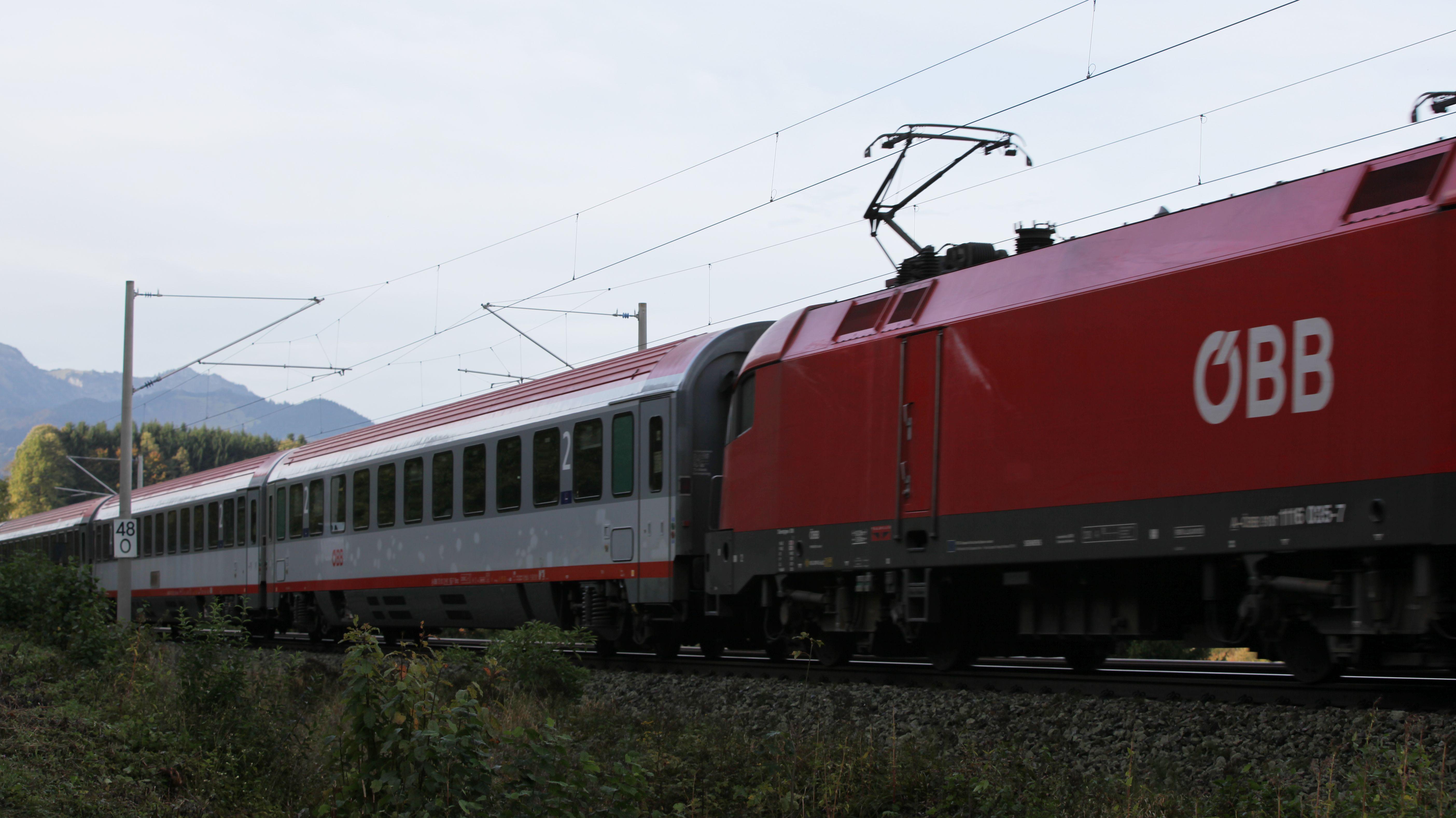 Ein EC-Zug (Symbobild)