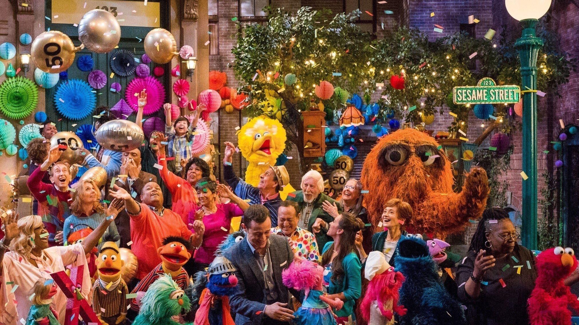 Die Sesamstraße feiert ihren 50. Geburtstag.