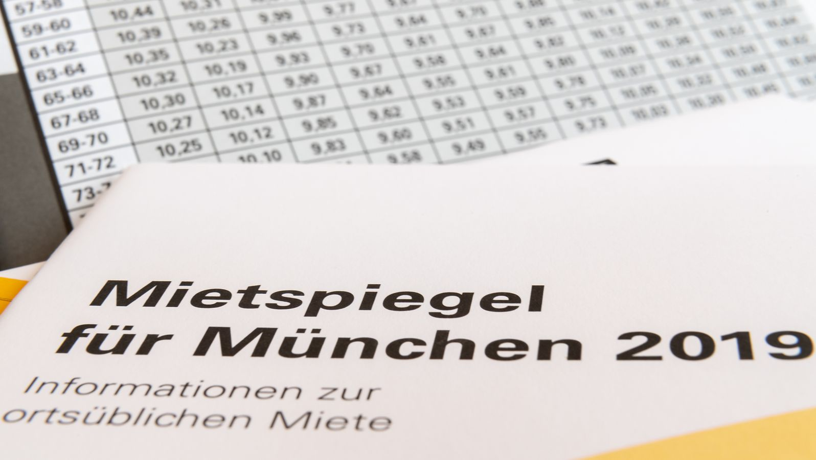 Mietspiegel münchen 2019