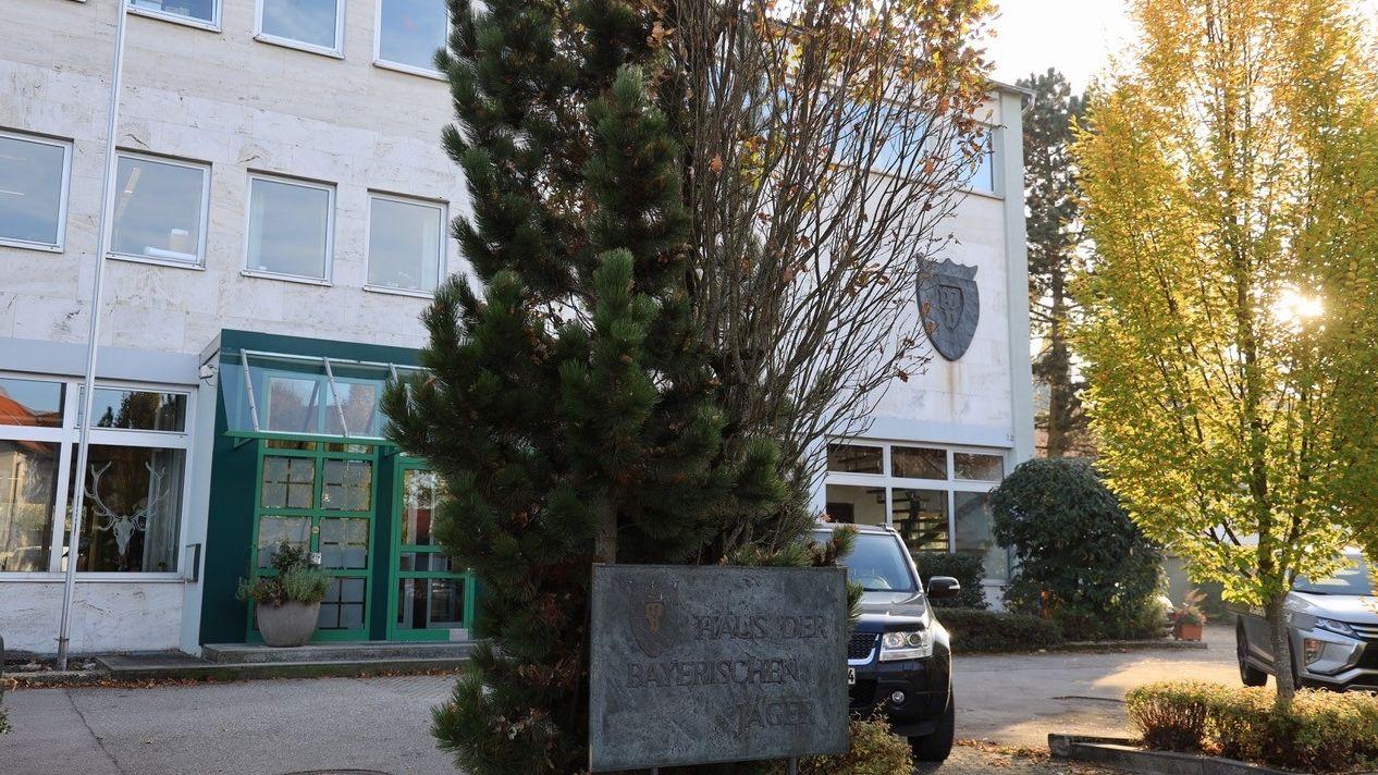 Geschäftsstelle des Bayerischen Jagdverbandes in Feldkirchen/Landkreis München