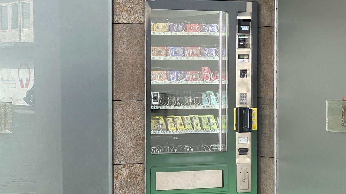 CBD-Automat in Würzburg