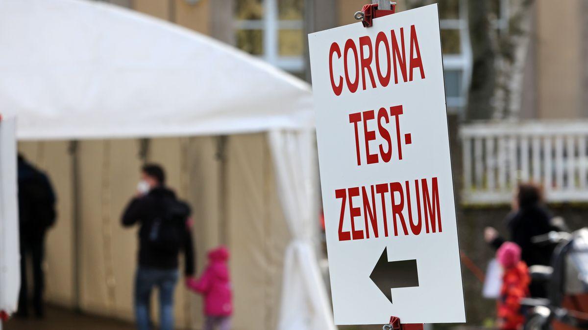 Das Corona Test-Zentrum der Universitätsmedizin in Rostock