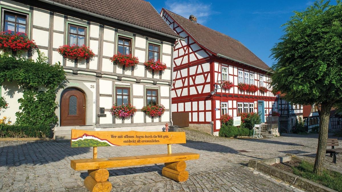 Fachwerkhäuser in Ummerstadt