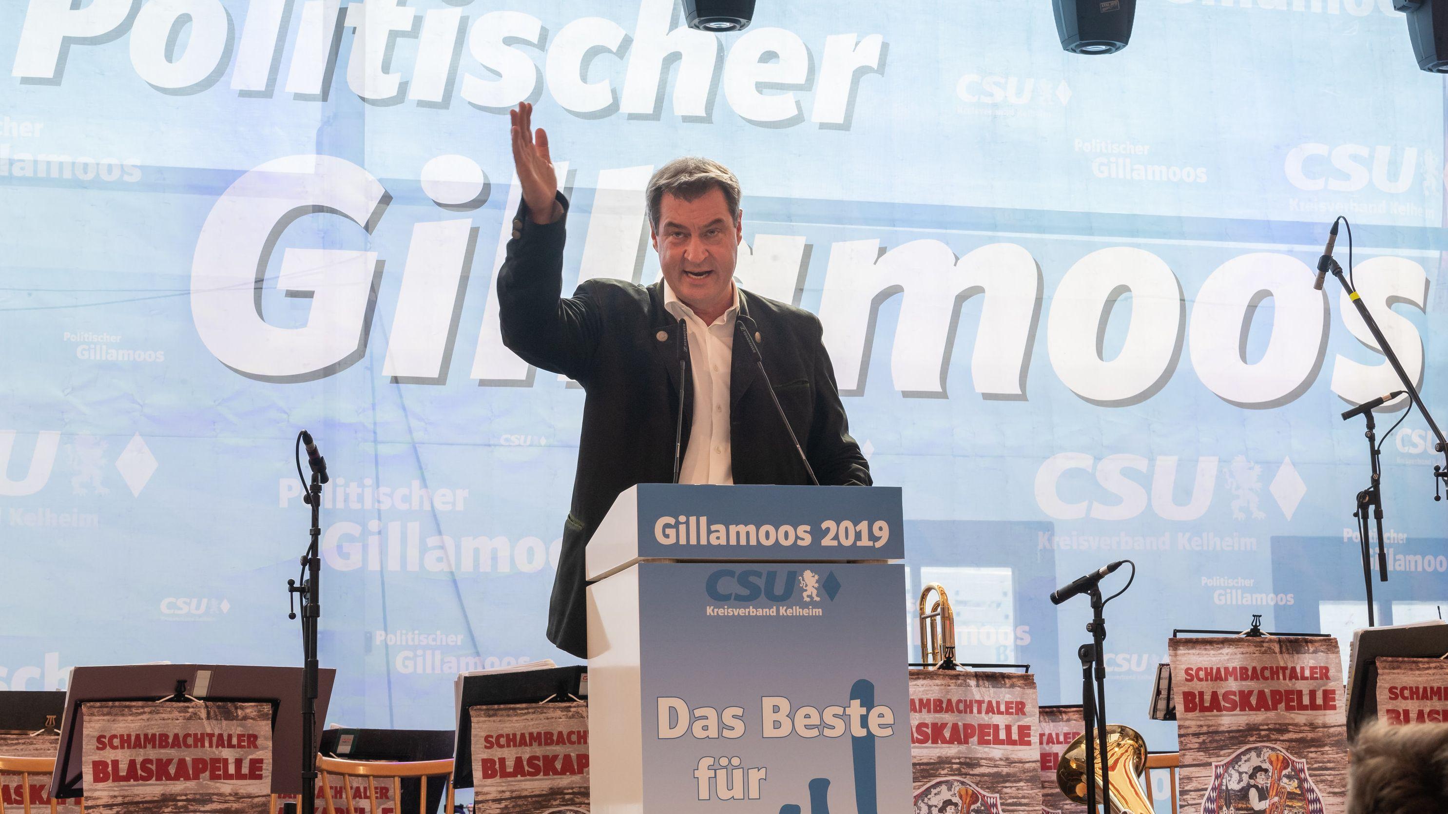 Der bayerische Ministerpräsident Markus Söder äußert sich zur SPD