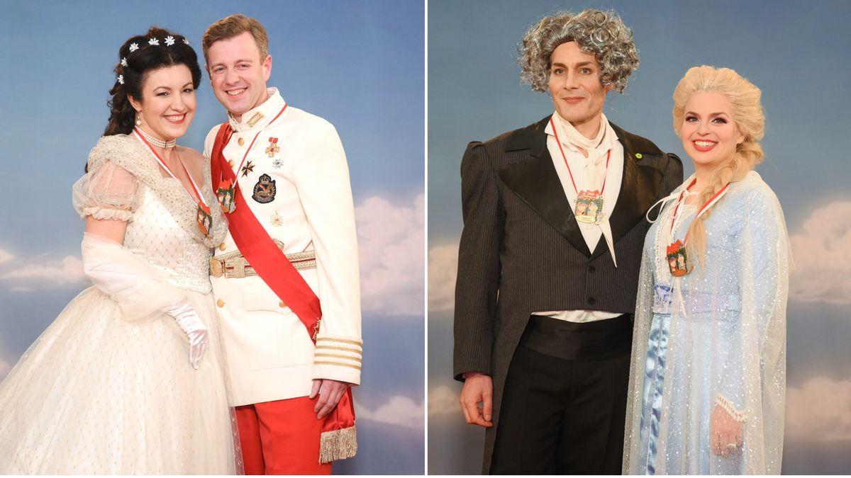 Dorothee Bär mit Ehemann Oliver/Katharina Schulz mit Co-Fraktionschef Ludwig Hartmann