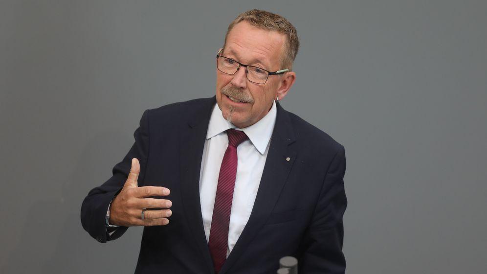 Der Abgeordnete Karl-Heinz Brunner (SPD) spricht im Bundestag  (Archivbild) | Bild:dpa/Jörg Carstensen