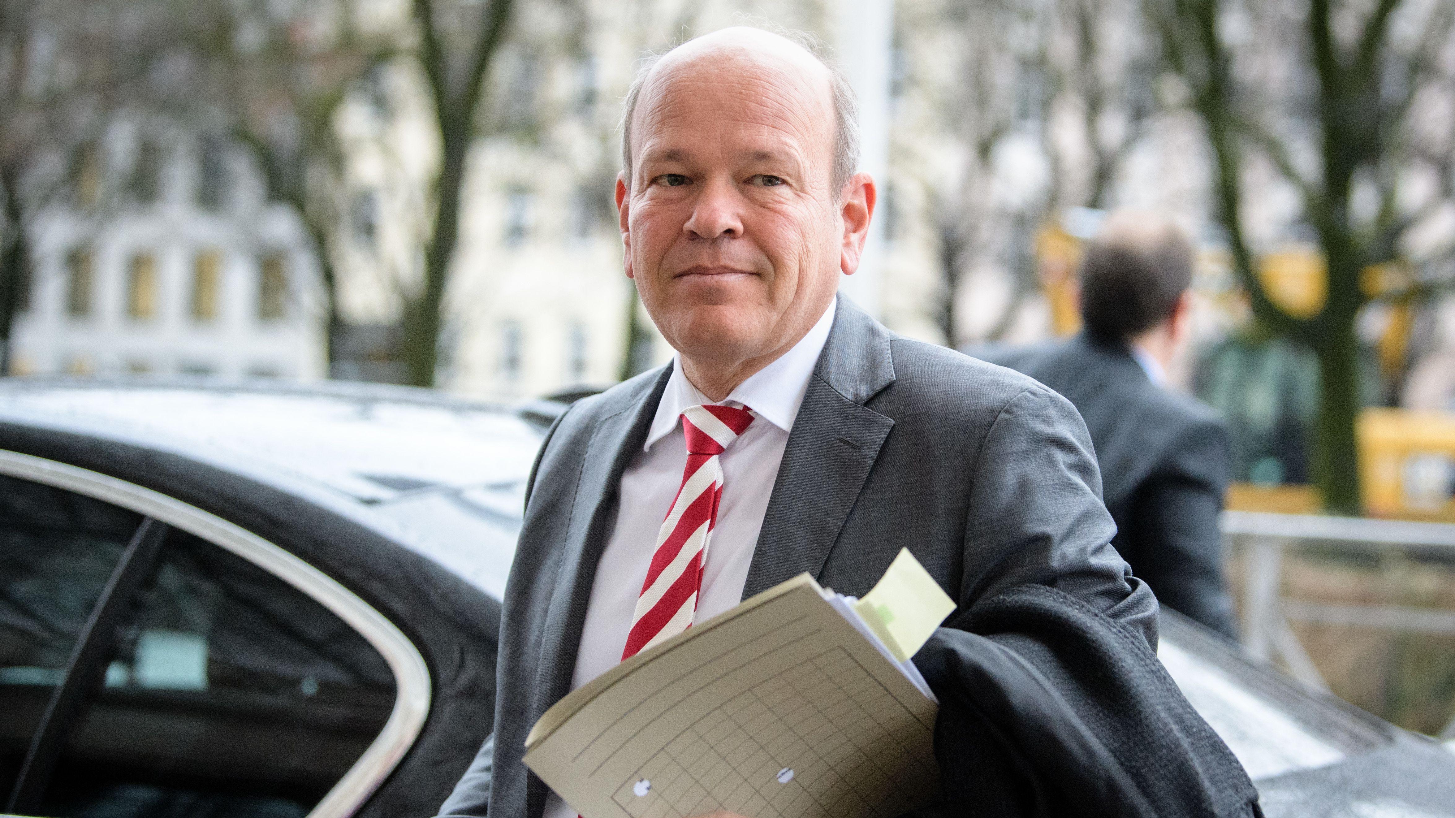 Burkhard Körner, Präsident des Landesamtes für Verfassungsschutz