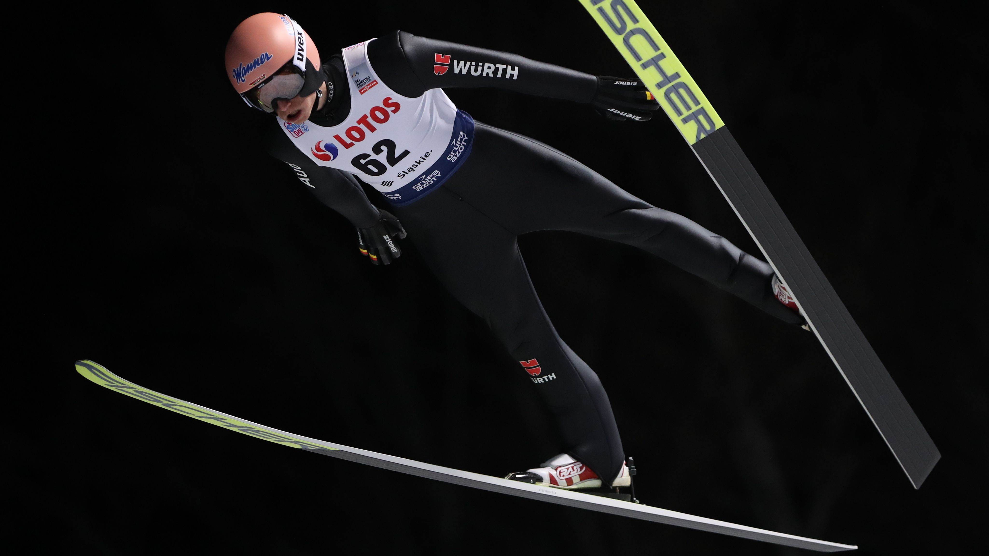 Karl Geiger gewinnt Qualifikation in Wisla