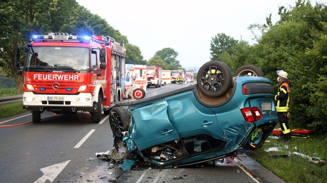 34-Jähriger nach Verkehrsunfall in Großostheim im Krankenhaus verstorben