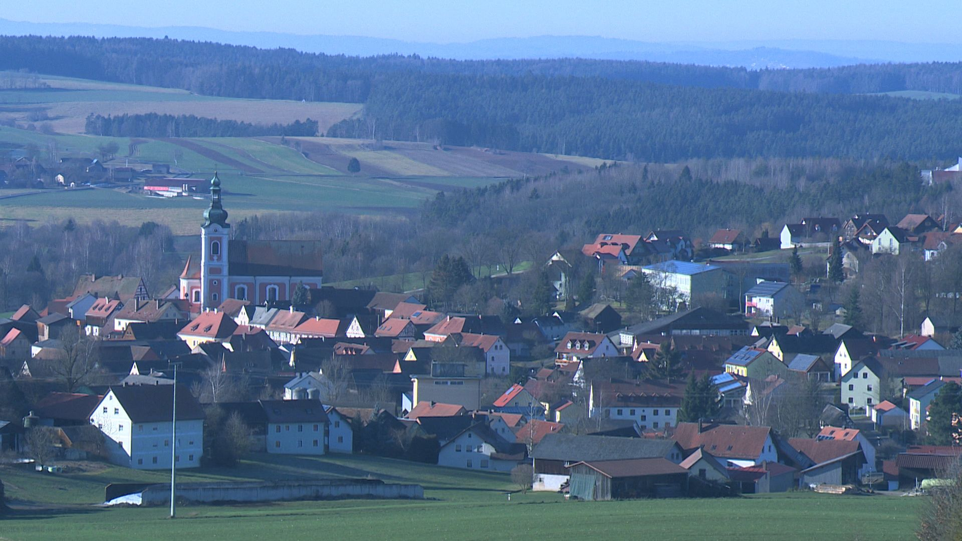 Blick über Neualbenreuth
