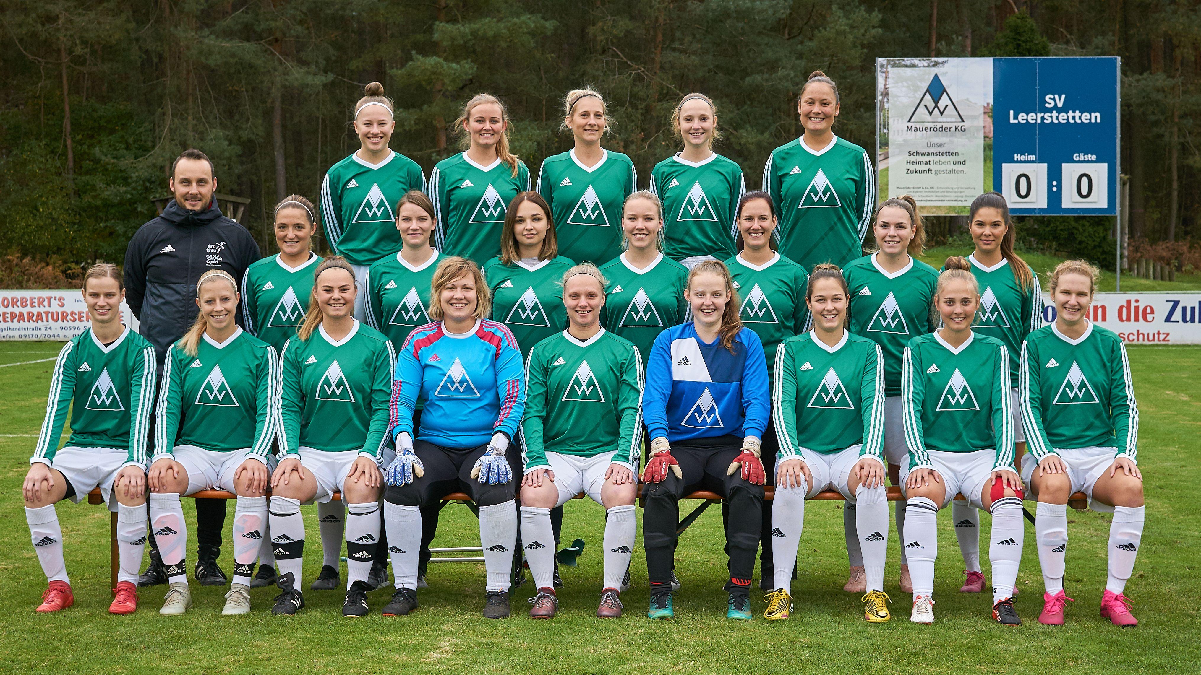 Die Frauenfußballmannschaft des SV Leerstetten
