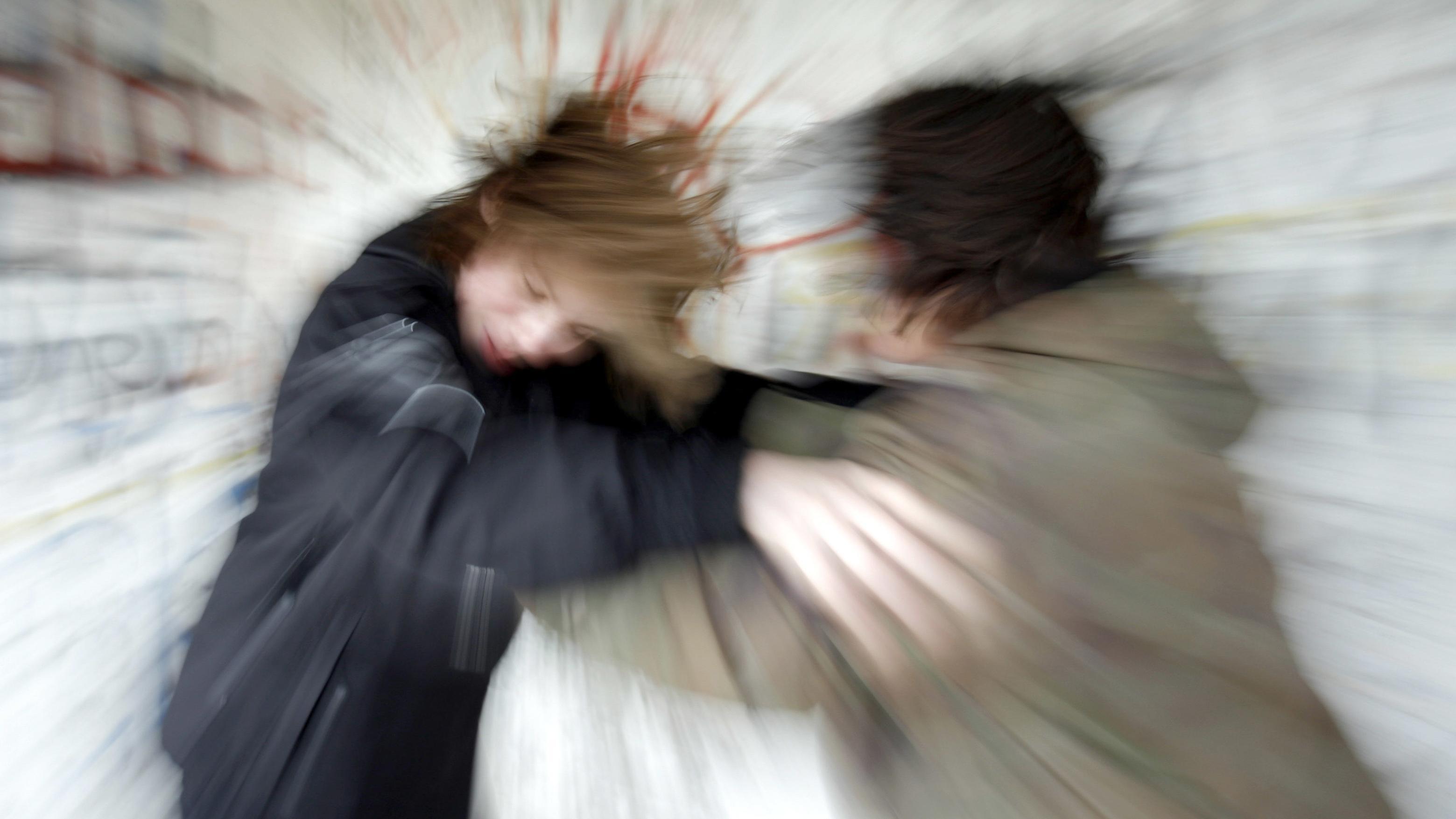 Schlägerei zwischen zwei Jugendlichen