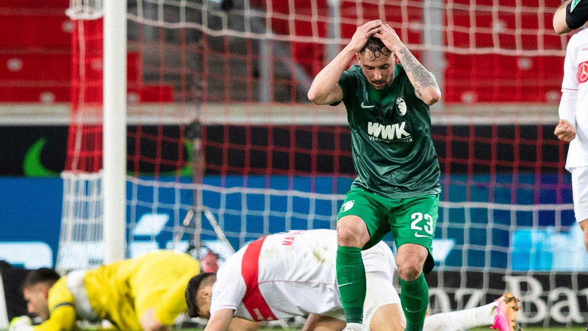 Spielszene VfB Stuttgart - FC Augsburg