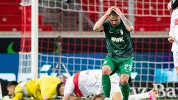 Spielszene VfB Stuttgart - FC Augsburg | Bild:Tom Weller/dpa