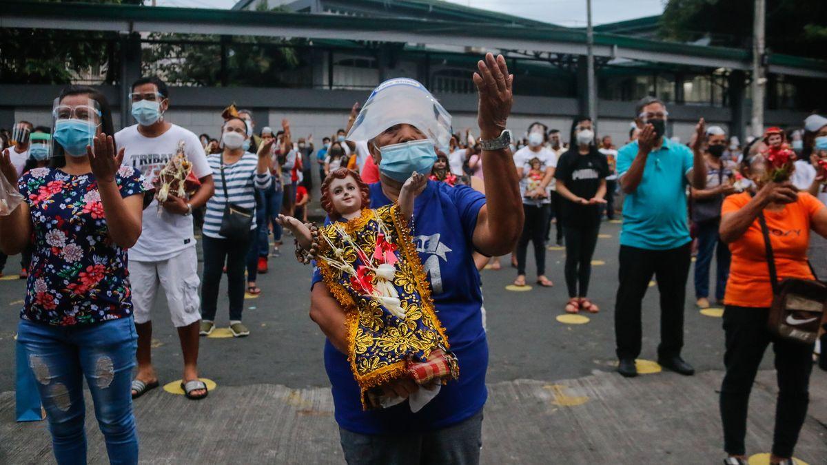 Auf den Philippinen und in vielen anderen ärmeren Ländern der Welt wurde noch nicht mit dem Impfen begonnen.