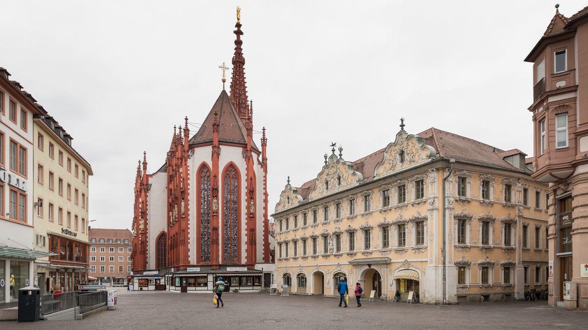Die Würzburger Innenstadt