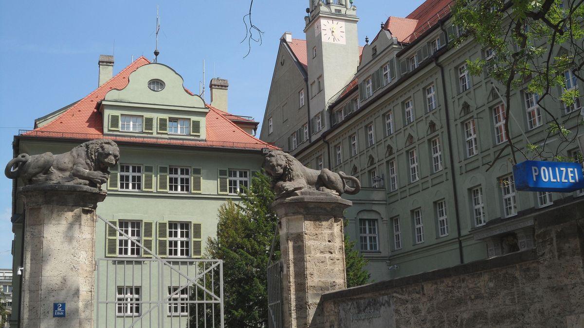 Das Polizeipräsidium in der Ettstraße in der Münchner Innenstadt