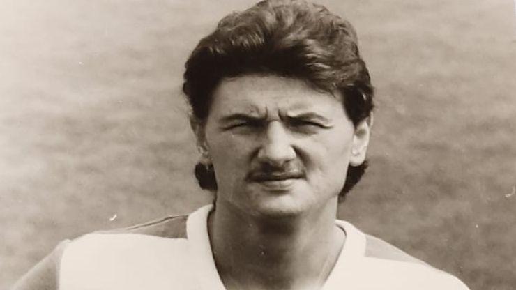 Fußballprofi Uwe Büchel