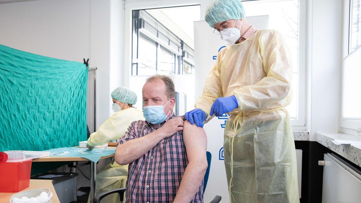 Corona-Impfung in Bielefeld