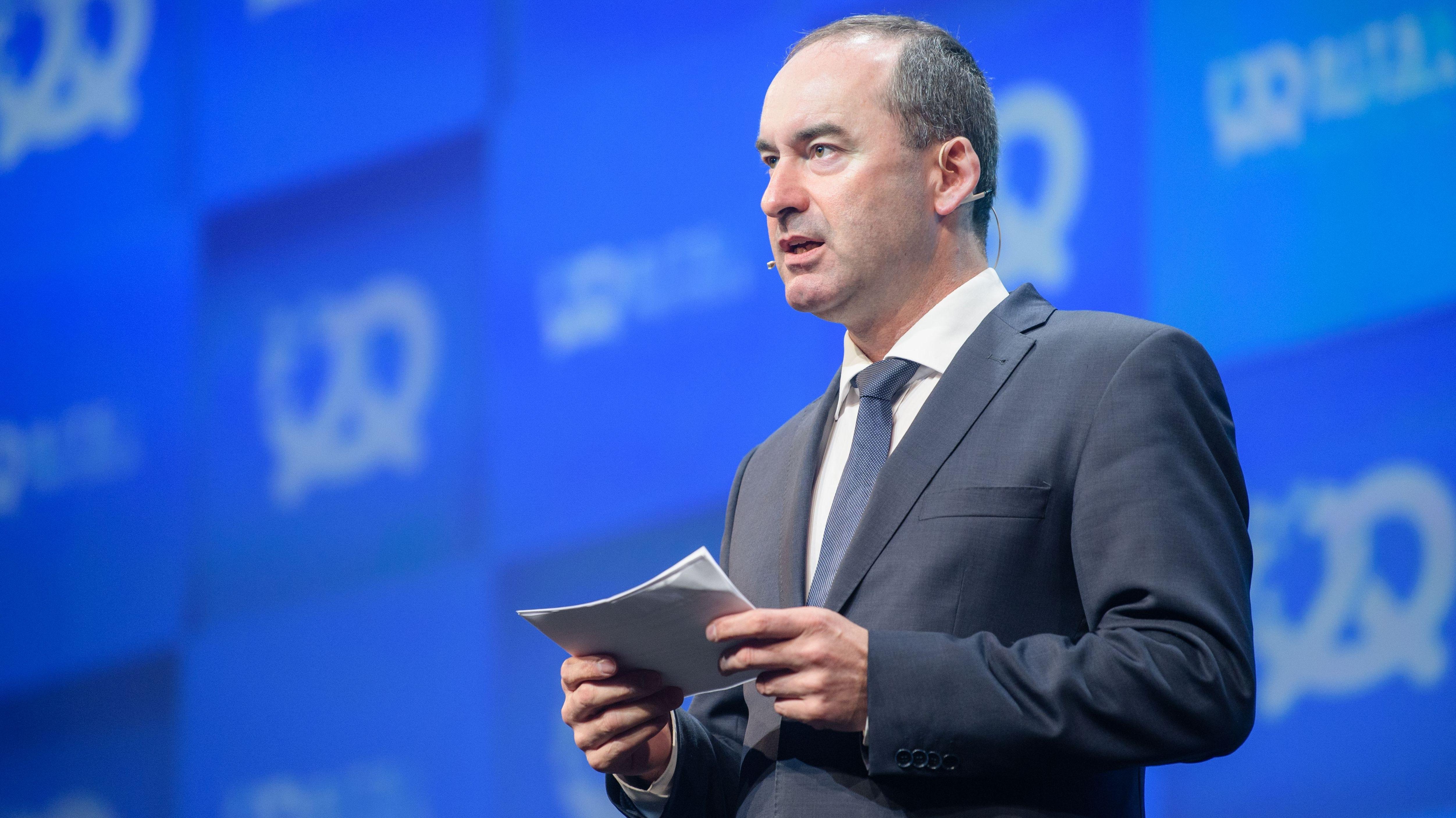 Hubert Aiwanger bei seiner Rede