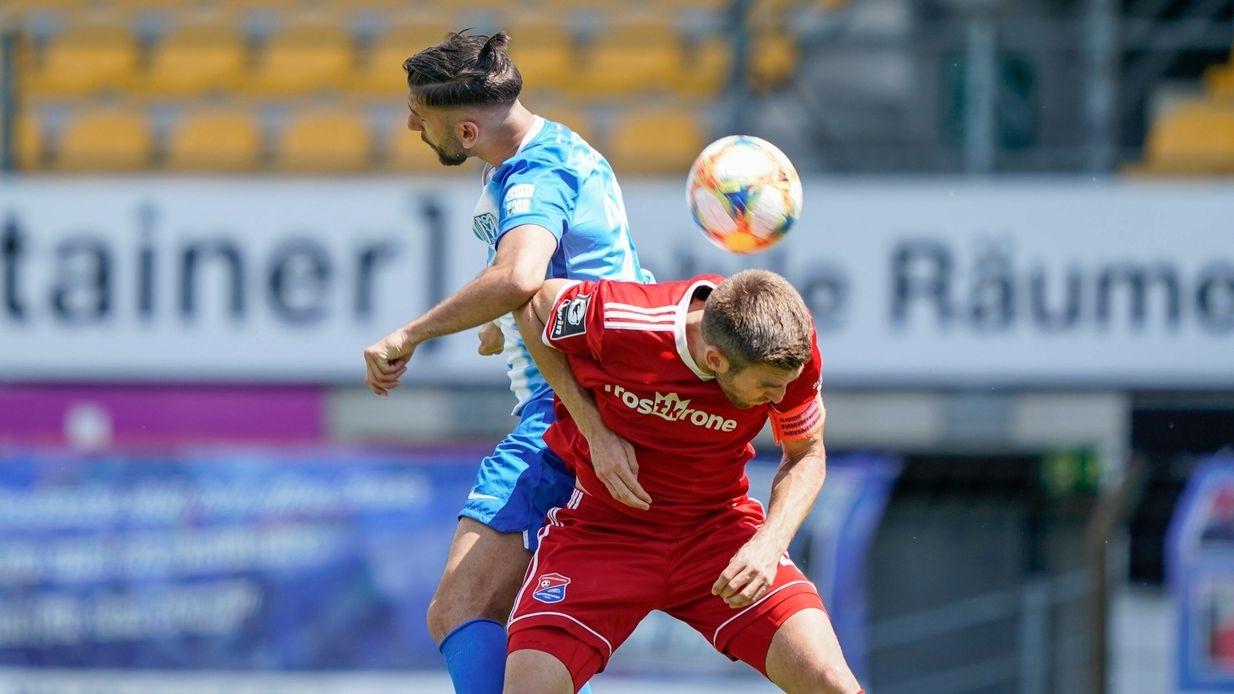 Spielszene Meppen - Unterhaching